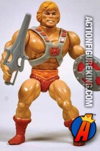 1982 He-Man Action Figure by Mattel.