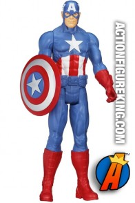 Avengers Assemble Titan Hero Series Captain America figure.