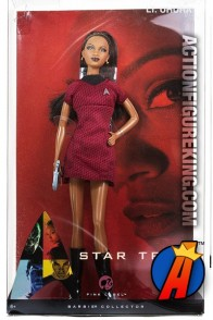 BARBIE 2008 STAR TREK LT. UHURA fashion figure from Mattel.