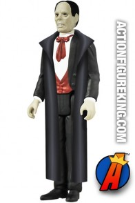Full view of this ReAction retro-style Phantom of the Opera action figure.