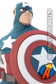 Disney Infinity 2.0 Marvel Super Heroes Captain America figure.