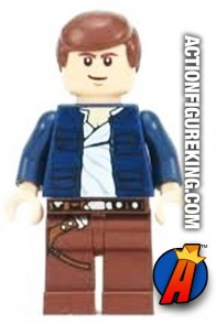 LEGO STAR WARS HAN SOLO Minifigure with Blue Jacket