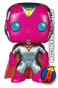 Funko Pop! Marvel Avengers Age of Ultron Metallic VISION Figure.
