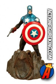 Fully articulated Marvel Select 7-inch Captain America (Bucky Barnes) action figure.