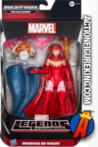 Marvel Legends Infinite Series Scarlet Witch action figure from Hasbro.