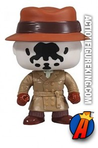 Funko Pop! Movies Watchmen Rorschach vinyl bobblhead figure.
