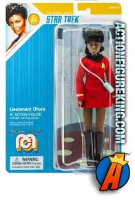 2019 MEGO STAR TREK 8-INCH LT. UHURA fully artciulated action figure.