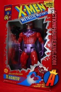 X-Men Deluxe 10-Inch Magneto Metallic Mutants Action Figure