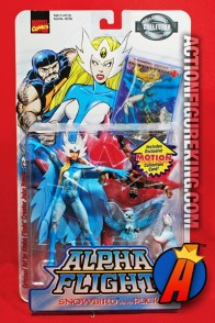Alpha Flight 5-inch scale SNOWBIRD and PUCK action figures from TOYBIZ.