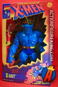 Articulated X-Men Deluxe 10-inch Beast action figure from Toybiz.
