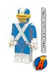 Medicom's 2.5 inch Kubrick Cyclops from the X-Men Set A.