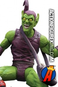 Fully articulated Marvel Select 7-inch Classic Green Goblin action figure from Diamond.