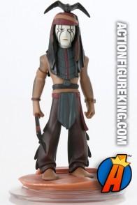 Disney Infinity Originals Lone Ranger TONTO Figure and gamepiece.