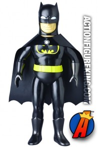 Sofubi Black-Suited Variant BATMAN figure from MEDICOM.