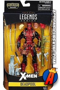 Marvel Legends Juggernaut BAF Series DEADPOOL Action Figure from Hasbro.