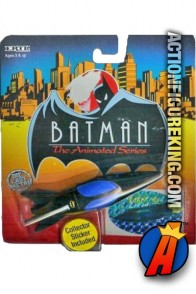 1:64th Batman Animated Die-Cast Metal Batboat.