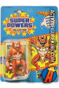 Vintage Kenner Super Powers 4.5-inch Parademon action figure.