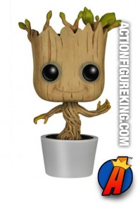 Funko Pop! Marvel Dancing Groot figure number 65.