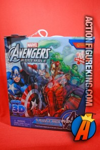 Avengers 5 puzzle pack 100-piece lenticular puzzles.