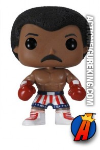 Rocky Funko Pop! Movies Apollo Creed vinyl bobblehead figure.