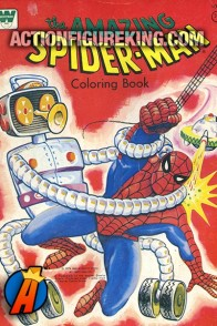 1976 the Amazing Spider-Man Whitman coloring book.