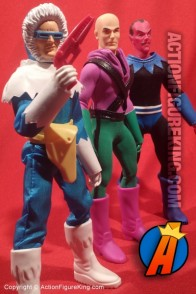 8-Inch scale Mego-style Retro DC Super-Heroes action figures from Mattel.