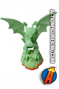 Skylanders Giants glow-in-the-dark Cynder figure from Activision.