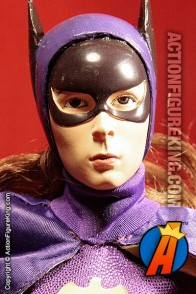 Batman Classic TV Series Custom sixth-scale Batgirl figure with authentic cloth uniform.