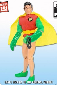Series 3 Retro Mego Batman Figures Robin with Removable Mask