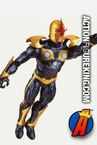 Fully articulated 6-inch scale Nova Marvel Legends action figure from Hasbro.