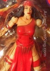 Marvel Legends Series 4 Elektra Action Figure from Toybiz.