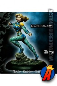 Knight Models 35mm BLACK CANARY Miniature Metal Figure.