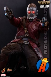 Sixth-scale Star-Lord action figure from Hot Toys.