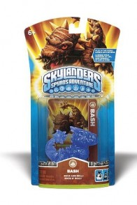 Skylanders Blue Bash color variant figure/gamepiece.