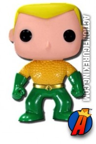 Funko Pop Heroes 6-inch Aquaman figure.