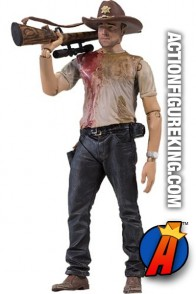 The Walking Dead TV Series 2 Deputy Rick Grimes figure from McFarlane Toys.