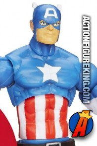 Hasbro presents this Marvel Universe 3.75-inch Captain America action figure.