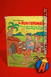 Flintstones: The Case of the Many Missing Things A Big Little Book from Whitman.