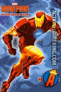 2013 Iron Man Heavy Metal Hero Coloring Book from Dalmatian Press.