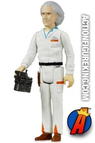 Back to the Future 3.75-inch Doc Brown action figure from Funko's ReAction line.