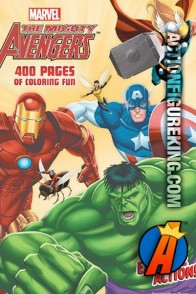 400-page The Mighty Avengers coloring book from Dalmatian Press.