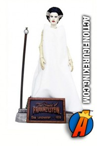 Sideshow 8-inch figure of Elsa Lanchester as the Bride of Frankenstein.