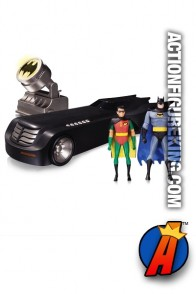 DC Collectibles BATMAN the Animated Series Deluxe BATMOBILE vehicle.