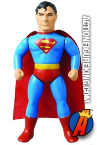 10-inch scale Medicom Sofubi Superman action figure.