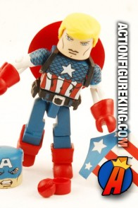 This Marvel Minimates Captain America figure is part of The Invaders box set.