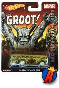 Guardians of the Galaxy Groot Surfin' Bus vehicle from Hot Wheels.