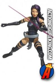 Marvel Legends Psylocke action figure from Hasbro.