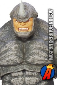 From the pages of Spider-Man comes this Marvel Universe 3.75-inch Rhino action figure.
