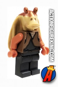 STAR WARS JAR JAR BINKS minifigure from LEGO.