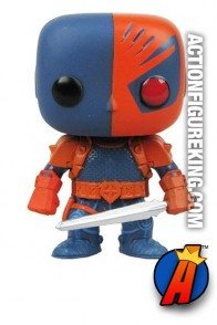 Funko Pop! Heroes Deathstroke vinyl bobblehead figure from DC Comics.